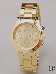 cheap -Women's Quartz Wrist Watch Hot Sale Alloy Band Charm Fashion Silver Gold Rose Gold
