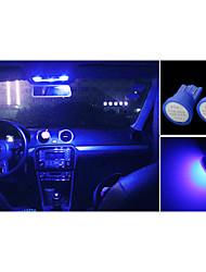 High Power 10  X blue COB T10 194 168 LED 12V Instrument Dash Light Bulbs