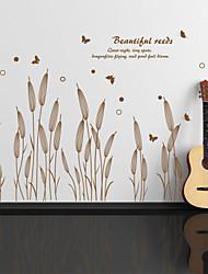 Botanički Zid Naljepnice Zidne naljepnice Dekorativne zidne naljepnice, Vinil Početna Dekoracija Zid preslikača Zid