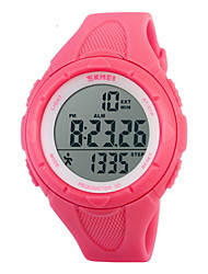 cheap -SKMEI® Women's Pedometer Fashion Sport Watch LCD Digital Alarm Stopwatch Cool Watches Unique Watches
