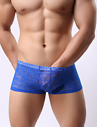 cheap -Boxing tight boxers  Bud silk boxers   Transparent briefs sexy clothing