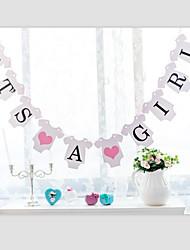 baratos -Aniversário Papel Pérola Decorações do casamento Tema Praia / Tema Jardim / Tema Las Vegas / Tema Asiático / Tema Flores / Tema Borboleta