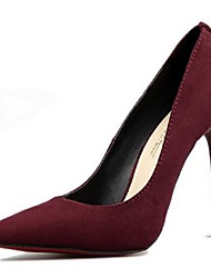 Women's Shoes Suede Pumps Fashion Sexy Stiletto Heel Comfort / Pointed Toe Heels Office & Career / Dress
