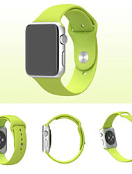 preiswerte -Uhrenarmband für Apple Watch Series 3 / 2 / 1 Apple Watch Series 3 Apple Handschlaufe Sport Band Silikon