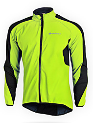 Nuckily Cycling Jacket Women's Unisex Long Sleeves Bike Fleece Jacket Jersey Top Bottoms Clothing Suits Waterproof Thermal / Warm