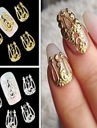 preiswerte -- Finger - Nail Schmuck - Metall - 10PCS Stück - 2 cm