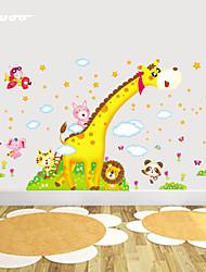 Недорогие -ботанический / Натюрморт / Мода / Продукты питания / Пейзаж / фантазия Наклейки Простые наклейки , Vinyl stickers 230*160cm