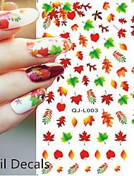 1 Nail Art samolepka Vodotlač Květina make-up Kosmetické Nail Art design