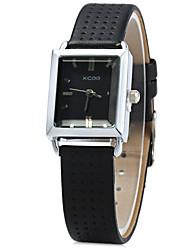 XICOO 624 Women's Convex Mirror Quartz Watch Leather Band Wristwatch Cool Watches Unique Watches Strap Watch