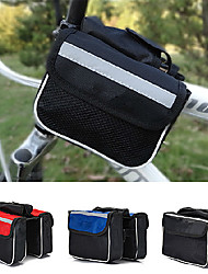 cheap -Bike Bag 2L Bike Frame Bag Waterproof Rain-Proof Wearable Compact Bicycle Bag Canvas Nylon Terylene Cycle Bag Cycling / Bike Traveling