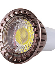 7W GU10 LED Spotlight MR16 1 COB 500-600 lm Warm White Cold White 2800-3200/6000-6500 K Dimmable Decorative AC 220-240 AC 110-130 V 1pc