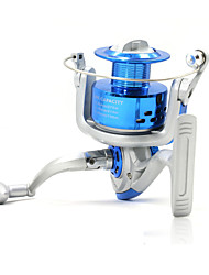 cheap -Spinning Reel 5.2:1 Gear Ratio+8 Ball Bearings Hand Orientation Exchangable Sea Fishing Bait Casting Ice Fishing Spinning Freshwater