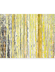 cheap -Abstract Forest Xmas Designs Handmade Oil Painting On Canvas Home Decoration