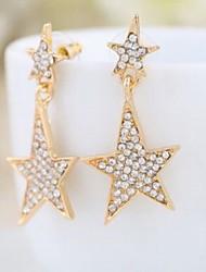 Peckové náušnice Slitina imitace Diamond Šperky Svatební Denní Ležérní 2pcs
