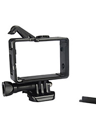 Недорогие -Аксессуары Гладкая Рамка защитный футляр Мешки Шурупы Монтаж Высокое качество Для Экшн камера Xiaomi Camera Gopro 4 Gopro 3 Gopro 3+