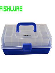 Недорогие -Коробка для мормышек Водонепроницаемый 3 Поддоны Жесткие пластиковые 30 cm 14 cm