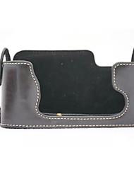 Недорогие -dengpin® Пу кожа половина камера кейс сумка чехол подходит для Fujifilm X-E1 х-е2 xe1 XE2 (ассорти цветов)