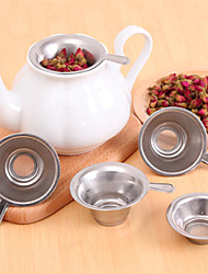 5Pcs/lot Stainless Steel Mesh Tea Coffee Strainer Tea Filter Diffuser Intervals Filter Inner Cup 6.2X2.2cm