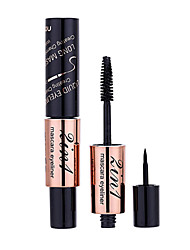 Mascara + Eyeliner combination Mascara Balm Wet / Mineral Lifted lashes Black Eyes 1 1 Make Up For You