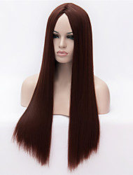 cheap -Europe And The United States The New Ms Brown Long Straight Hair Wig