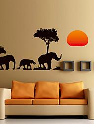economico -Paesaggi Animali Romanticismo Moda Forma Vacanze Cartoni animati Fantasia Botanica Adesivi murali Adesivi aereo da parete Adesivi