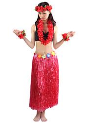 Burlesque/Pagliaccio Costumi Cosplay Vestito da Serata Elegante Unisex Halloween Carnevale Feste/vacanze Costumi Halloween Verde Giallo