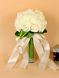 """povoljno -Cvijeće za vjenčanje Buketi Vjenčanje Elastični saten Pjena 10.63 """"(Approx.27cm)"""