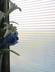 cheap -Classic Waves Stripes Pattern Window Film