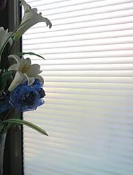 Недорогие -Полоски Классика Пленка на окна,ПВХ/винил материал окно Украшение