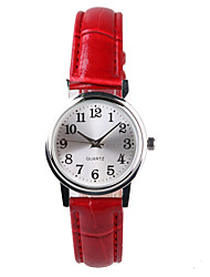 Fashion Beautiful Women's Watch Lucky Red Belt Cool Watches Unique Watches
