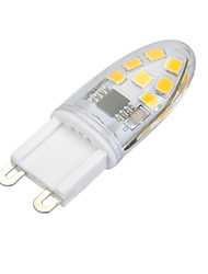 3W G9 Luci LED Bi-pin Modifica per attacco al soffitto 14 leds SMD 2835 Oscurabile Bianco caldo Luce fredda 200lm 3000/6500K AC 220-240V