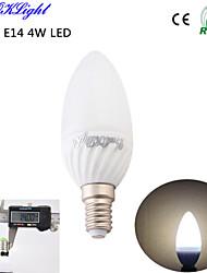 E14 LED svíčky C35 6 lED diody SMD 5730 Ozdobné Teplá bílá 320lm 3500K AC 220-240 AC 110-130V