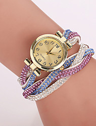cheap -Xu™ Women's Korea Velvet Around Rivets Bracelet Quartz Watch Cool Watches Unique Watches