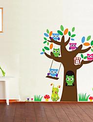 Animais / Natal / Desenho Animado / Moda / Feriado / Formas / Fantasia / Lazer Wall Stickers Autocolantes de Aviões para Parede , PVC