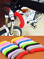 cheap -High Quality Antiskid MTB Mountain Bike Brake Lever Silicone Grip Road Track Bicycle TT Rest Handlebar Silicone Grip