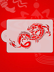 cheap -Chinese Style Dragon Cookie Stencil,Cupcake Decorating Tools,Fondant Decorating Stencil,Cake Decorating Supplies ST-3125