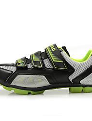 Tiebao Tênis Tênis para Mountain Bike Sapatos para Ciclismo HomensAnti-Escorregar Almofadado Ventilação Impacto Anti-desgaste Prova de