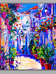 cheap -Square Size Pestrol Style Landscape OIl painting