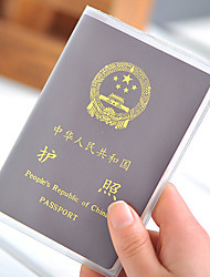 PVC Passport Holder & ID Holder Passport Cover Waterproof Portable Dust Proof Travel Storage Ultra Light(UL)