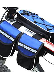 povoljno -FJQXZ Torba za bicikl 3L Bike Frame Bag Vodootporno Otporno na kišu Višenamjenski Torba za bicikl Najlon Torbe za biciklizam Sve Mobitel