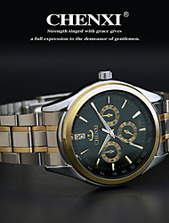 cheap -CHENXI®Men's Classic Business Style Steel Strap Quartz Watch Cool Watch Unique Watch