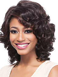 cheap -Synthetic Wig Wavy Synthetic Hair Wig Women's Capless