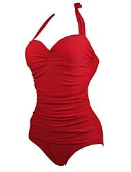 Women's Sexy Straped One-pieces Swimwear Bikini Beachwear