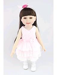 """preiswerte -NPK DOLL Lebensechte Puppe Baby 18"""" Silikon Vinyl Neugeborenes lebensecht Niedlich Handgemacht Kindersicherung lieblich Non Toxic Geschenk"""