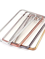 levne -Carcasă Pro Samsung Galaxy Samsung Galaxy pouzdro Galvanizované / Průhledné Zadní kryt Jednobarevné TPU pro A7(2016) / A5(2016) / A9