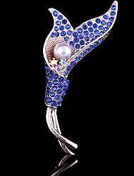 kvinders tulipan blomst broche til bryllupsfest dekoration tørklæde, fine smykker
