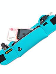 Недорогие -Поясные сумки Сотовый телефон сумка Пояс Чехол для Марафон Спортивные сумки Многофункциональный Водонепроницаемость Быстровысыхающий Сумка для бега iPhone 5c iPhone 4/4S iPhone 5/5S Нейлон