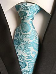 Men's Party/Evening Wedding Paisley JACQUARD WOVEN Necktie Necktie