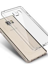 Недорогие -для Samsung Galaxy s7 края прозрачной четкой мягкой задней стороны обложки ТПУ случае s7 s6 s5 s4 края плюс