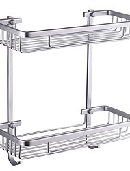 cheap -Bathroom Shelf High Quality Contemporary Aluminum 1 pc - Hotel bath
